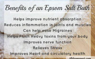 Benefits of Epsom Salt Baths