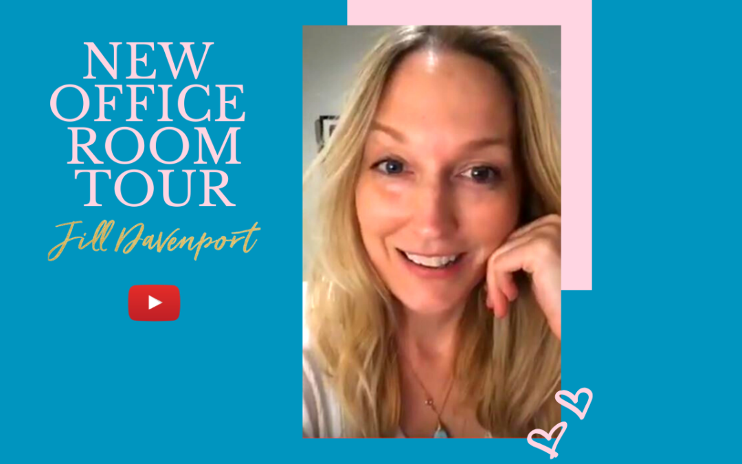 Office Room Tour – Sneak Peek of My New Healing Space